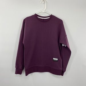 Plum Under Armour Long Sleeve Pullover Size XLarge